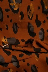 Leopard grijs/bruin