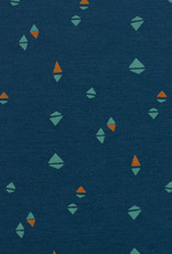Little triangle blue