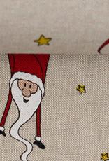 Kerstmannen en sterren