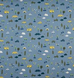 Cars blue