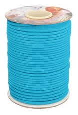 Paspel katoen turqoise blauw