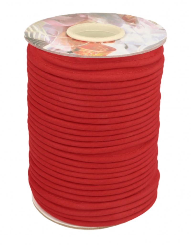 Paspel katoen rood