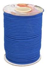 Paspel katoen koningsblauw
