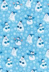Snowflakes snowman