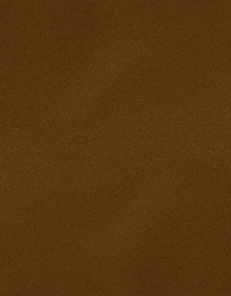 Vilt 30x 20 cm licht  bruin