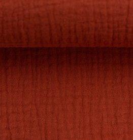 Tetra katoen donker rood