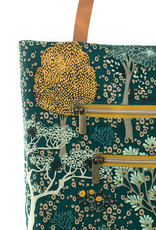 See  You At Six Oriental garden cotton canvas