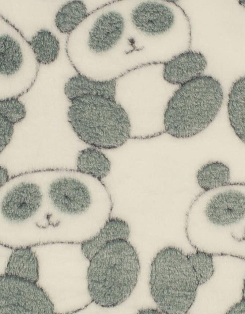 Panda white fleece