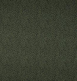 Leopard print groen