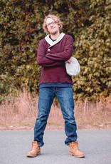 Piet sweater bordeaux