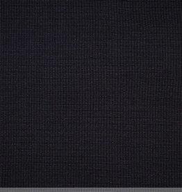 Capitoned baby fabric zwart