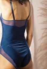 Bodysuit  Hibou fluweel