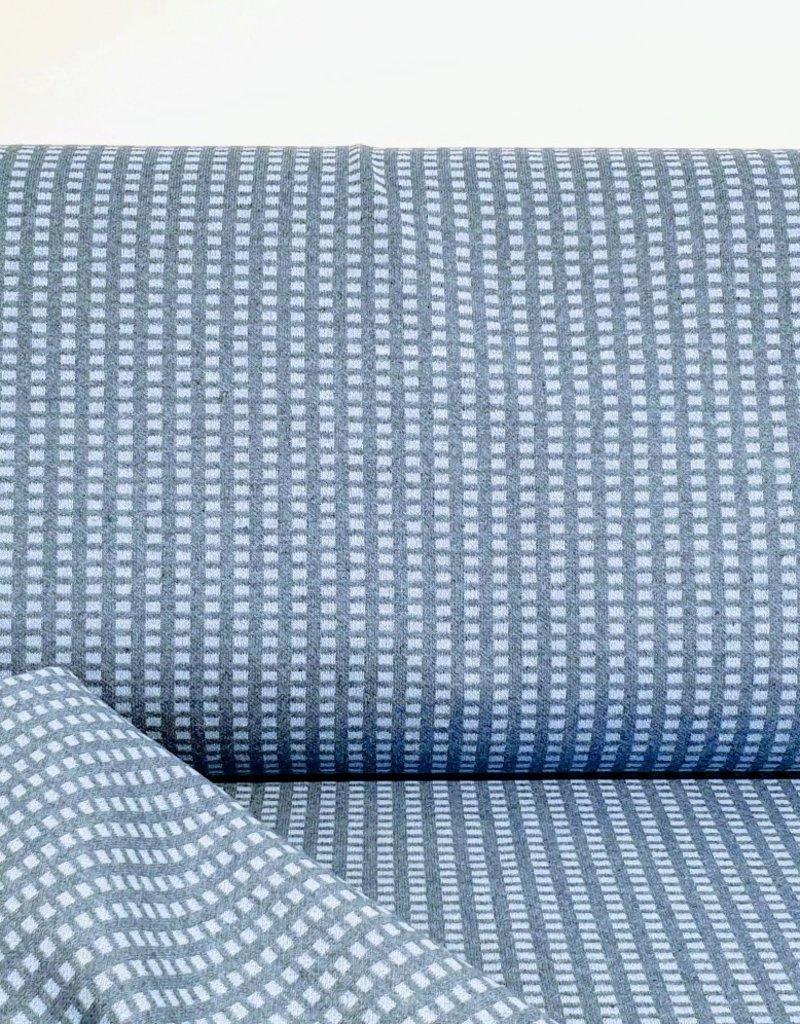 Jacquard block blue