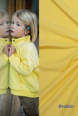 Fibre mood Robin boordstof  licht geel