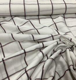 Wit glinsterend vierkant
