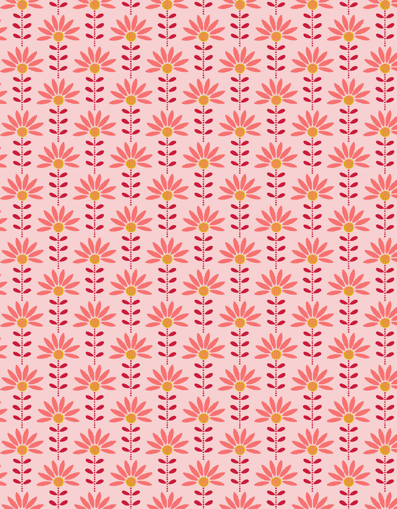 Popline grafic flower