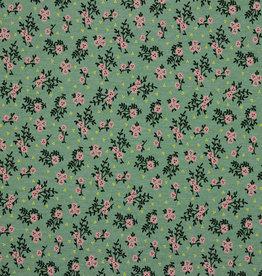 Jersey flower green