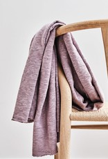 Mind the maker Organic slub jacquard lilac