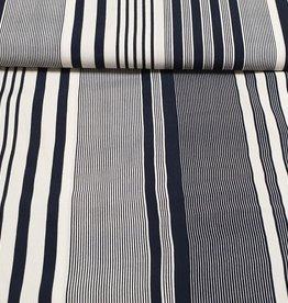 La Maison Victor Stripes blue and white