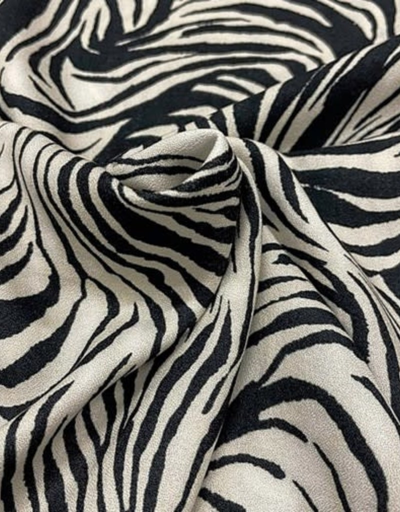 La Maison Victor Crepe zebra