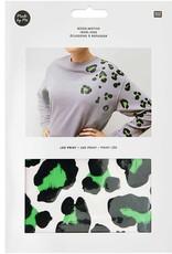 Leo print groen