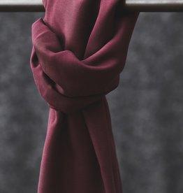 Meet Milk Smooth drape twill  maroon