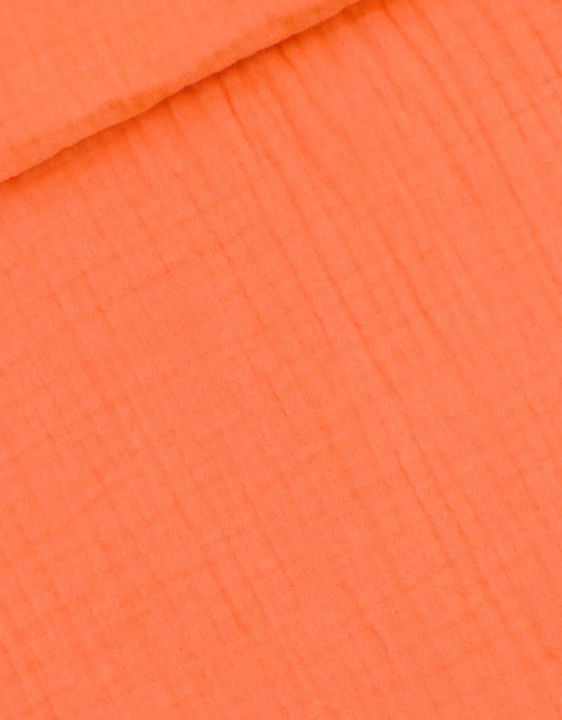 See  You At Six Double gauze persimmon oranje