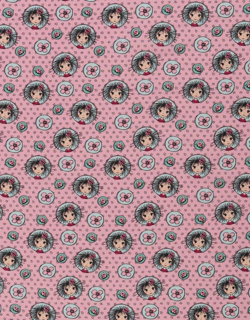 Valerie papillon  roze