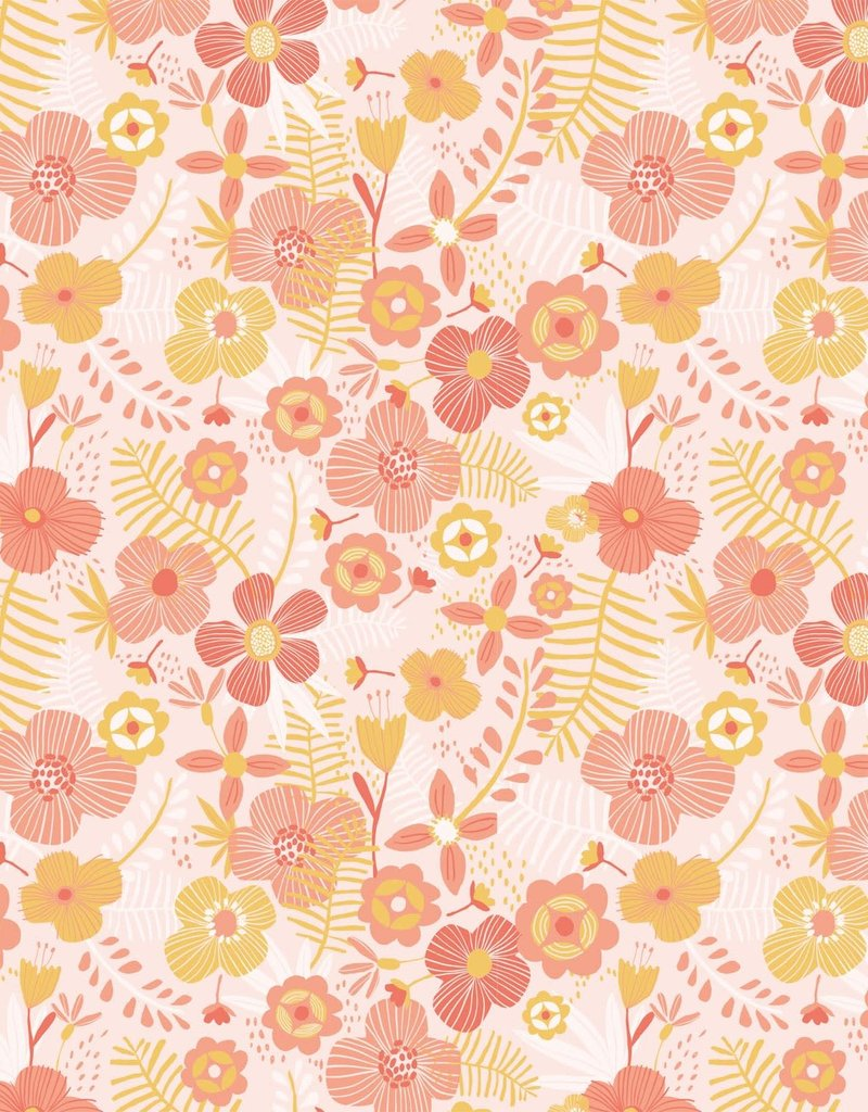Katia fabrics Jumbo flowers