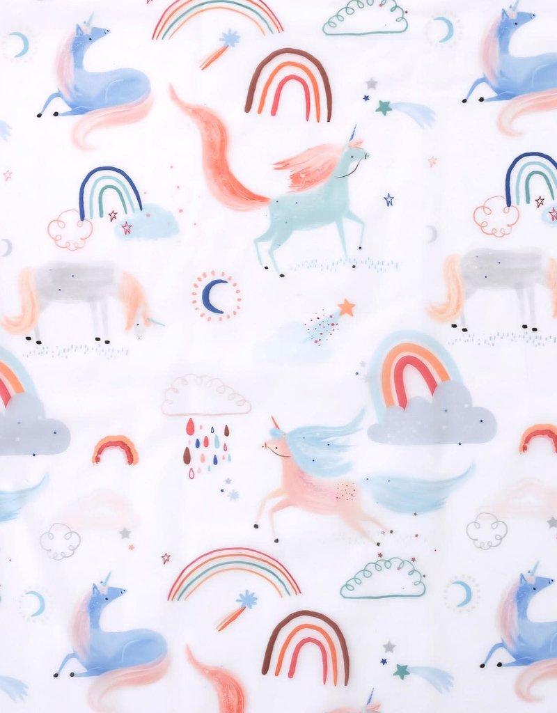 Katia fabrics Unicorn is in the air