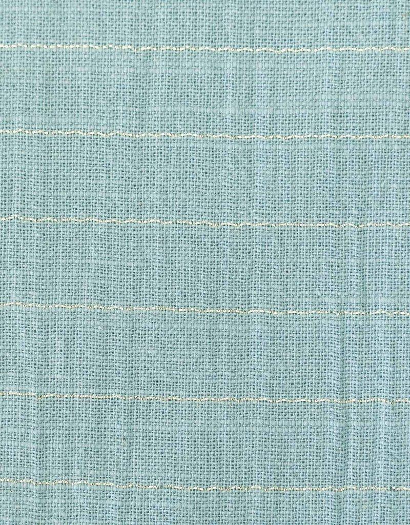 Katia fabrics Sari gold mint