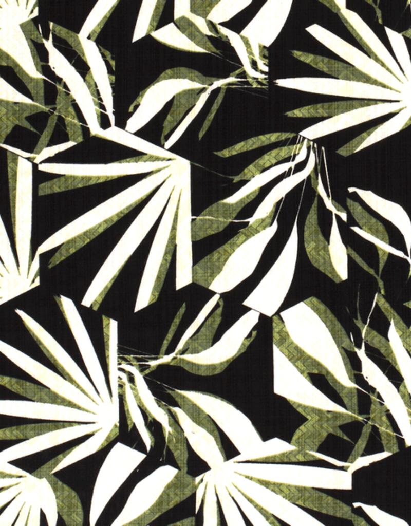 Palmprint zwart/groen
