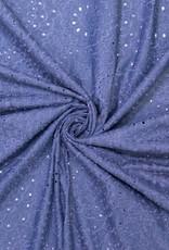 Embroidery denim