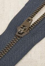 Rits|metaal niet deelbaar|Marine|kleur 560