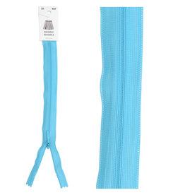 Blinde rits|turquoise blauw|kleur 833