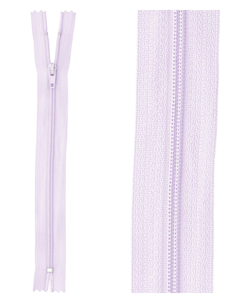 Rits|niet deelbaar|lavendel|kleur 68