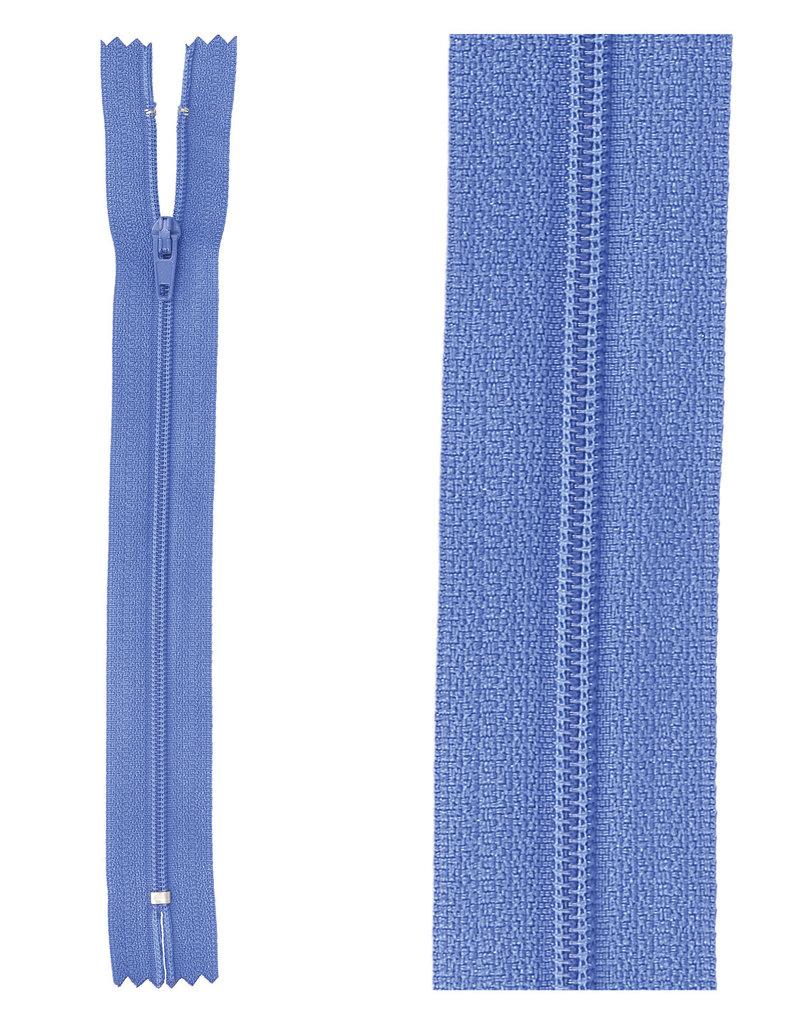 Rits|niet deelbaar|zeeblauw|kleur 918