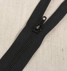 Broekrits|niet deelbaar| zwart|kleur 580