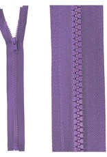 Bloktand rits deelbaar  violet kleur 559