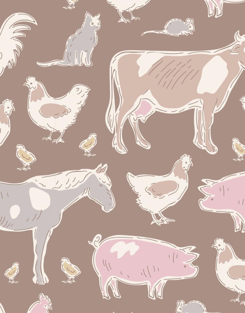 Tilda Farm animals brown