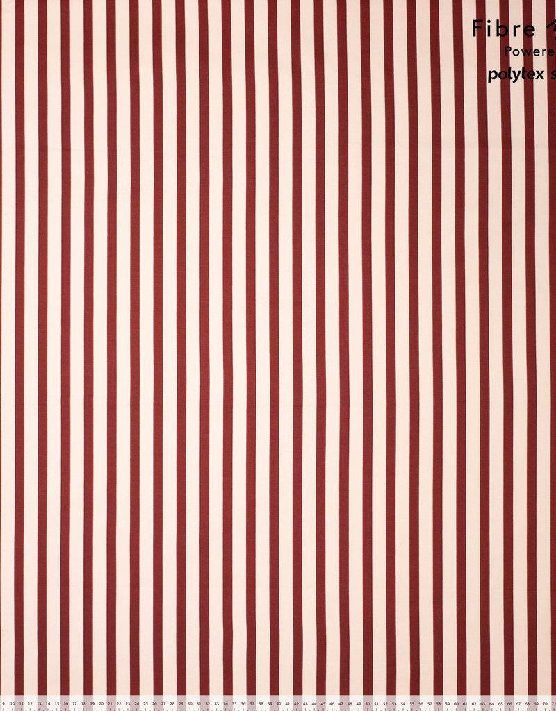 Fibre mood Maya red stripe