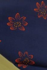 Henrik flower rood/blauw