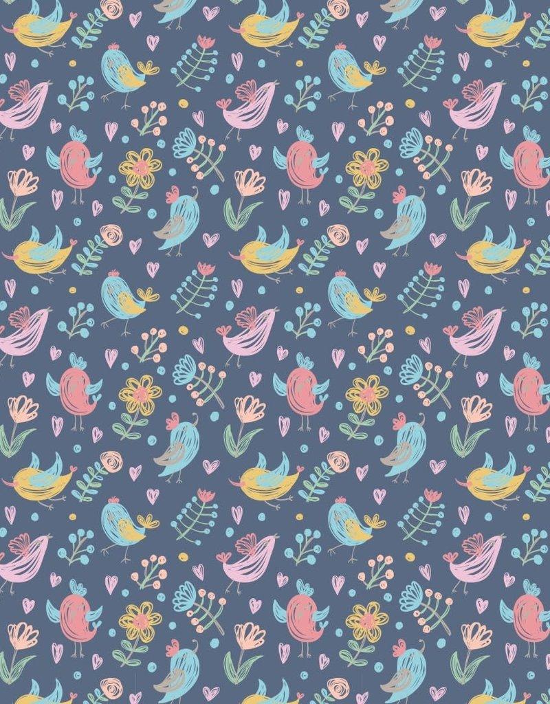 Poplin birds
