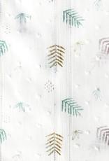 Katia fabrics Plumetti Leopard leaves
