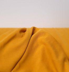 Modal tricot donker geel