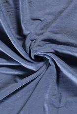 Bamboe fleece blauw