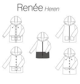 Iris May Renée heren mantel