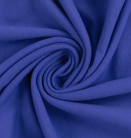French terry Maike royal blauw