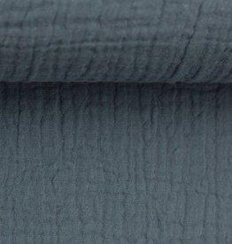 Tetra katoen jeansblauw