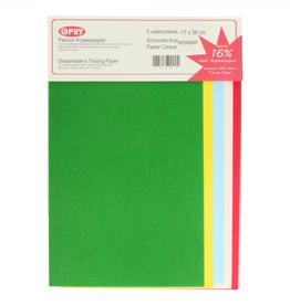 Kopieerpapier gekleurd